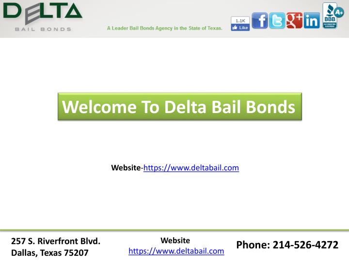 Welcome To Delta Bail Bonds