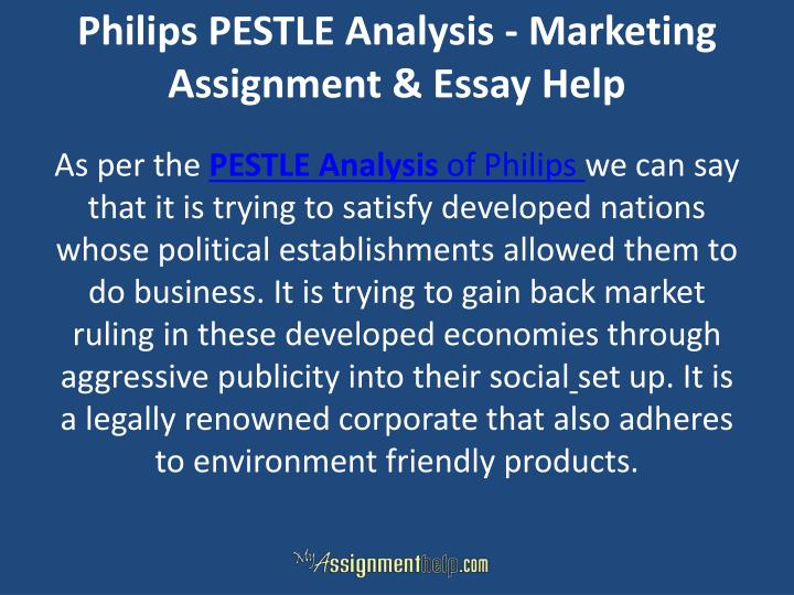 Philips PESTLE Analysis - Marketing Assignment & Essay Help