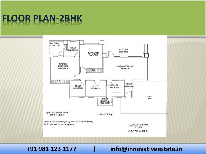 Floor Plan-2bhk