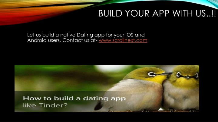 Build your app with us..!!