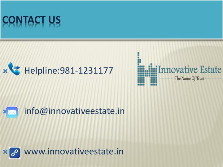 Helpline:981-1231177