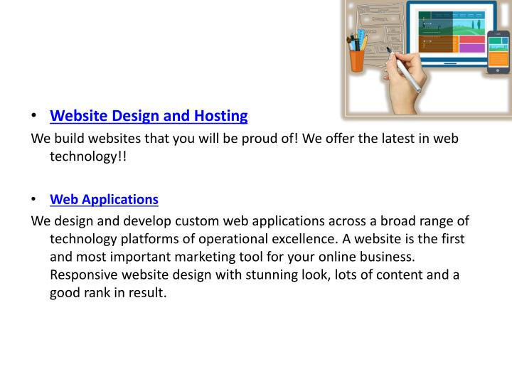 Website Design and Hosting