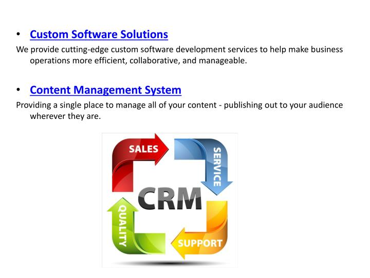 Custom Software