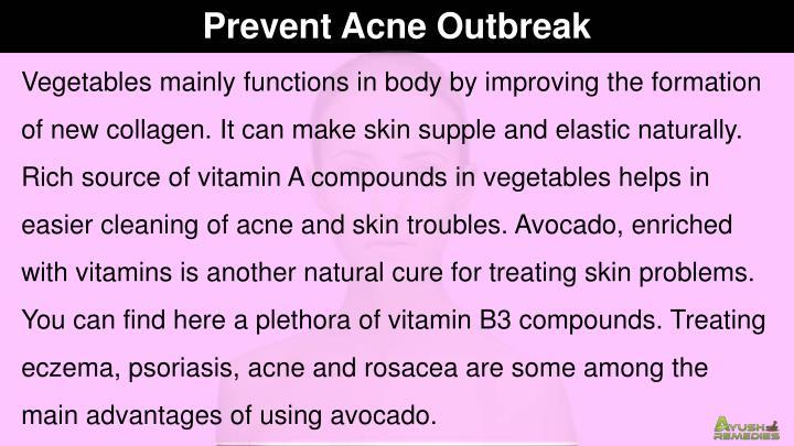 Prevent Acne Outbreak