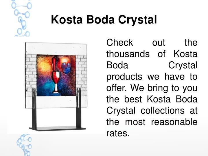 Kosta Boda Crystal