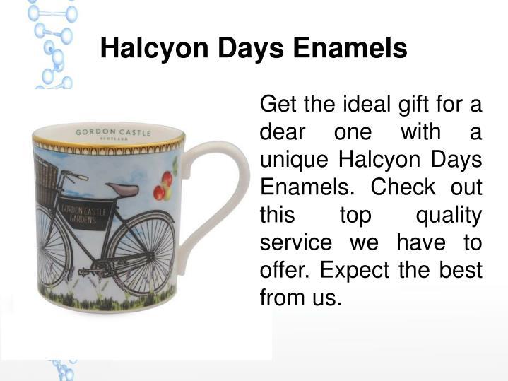 Halcyon Days Enamels