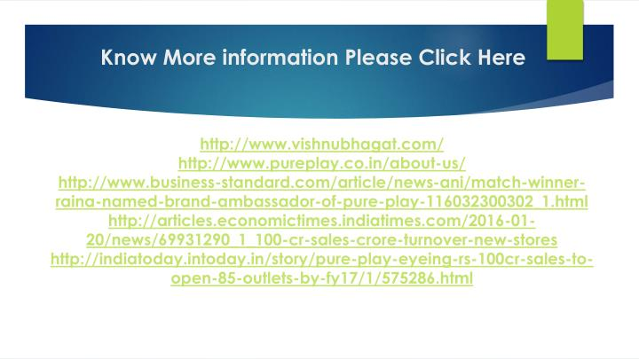 Know More information Please Click