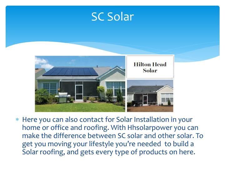 SC Solar