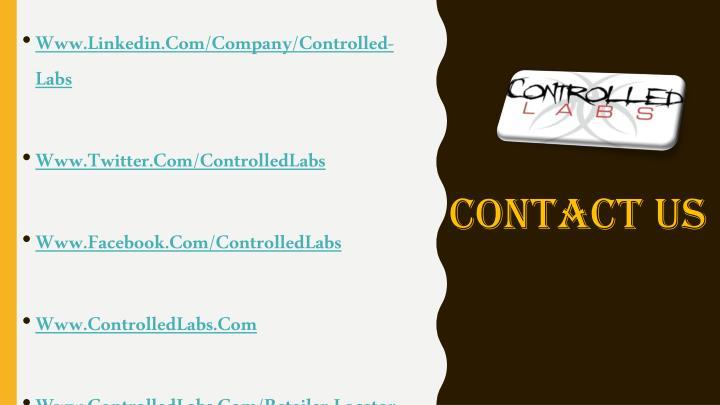 Www.Linkedin.Com/Company/Controlled-Labs