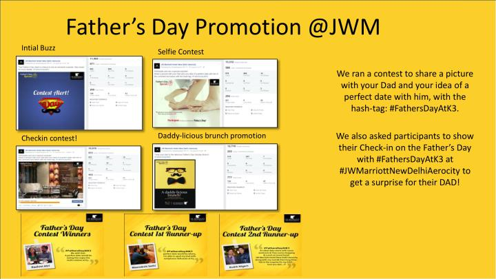 Father's Day Promotion @JWM