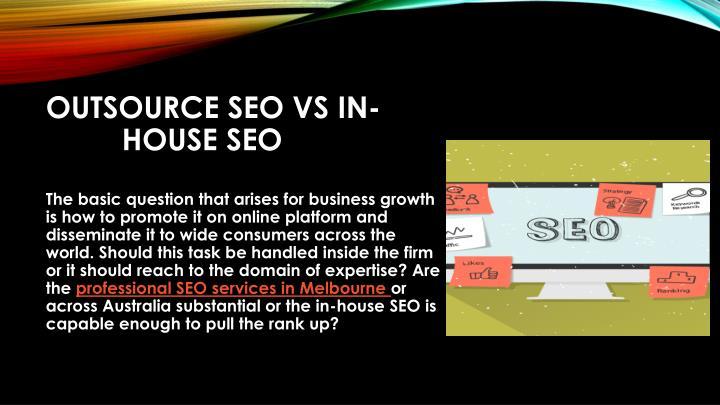 Outsource SEO Vs