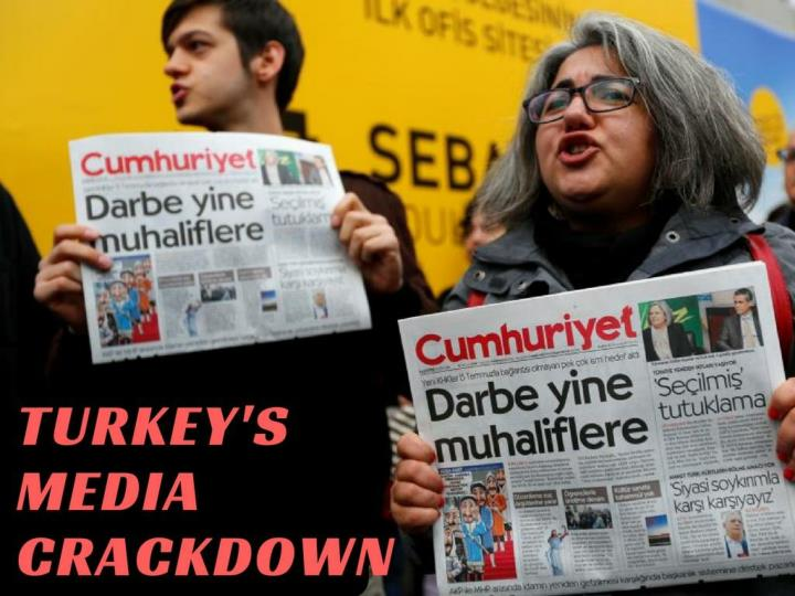 Turkey s media crackdown