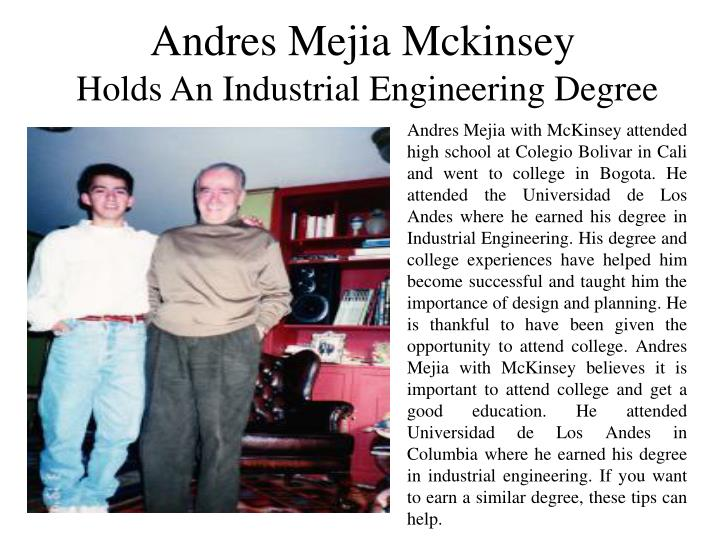 Andres Mejia Mckinsey