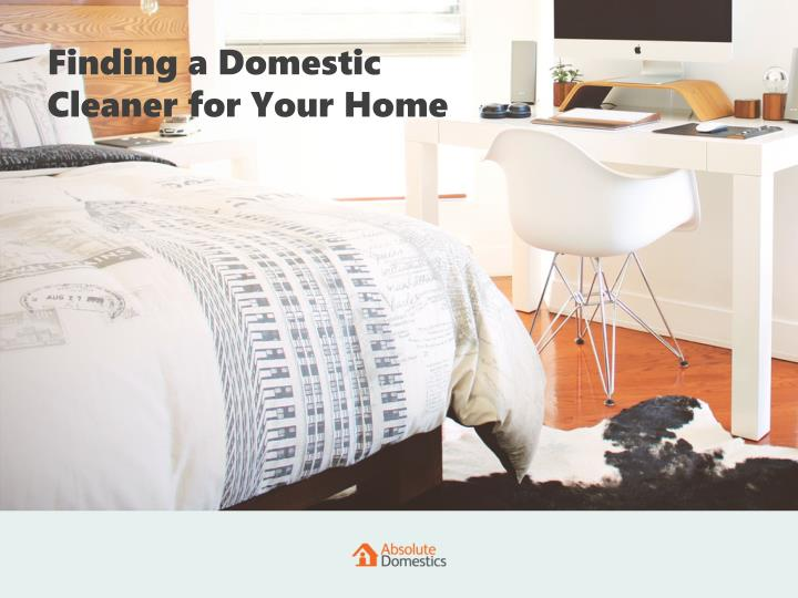Finding a Domestic