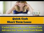 useful guidance to get online cash advance for your small cash hassle