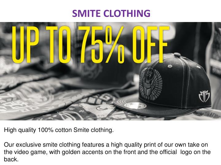 SMITE CLOTHING