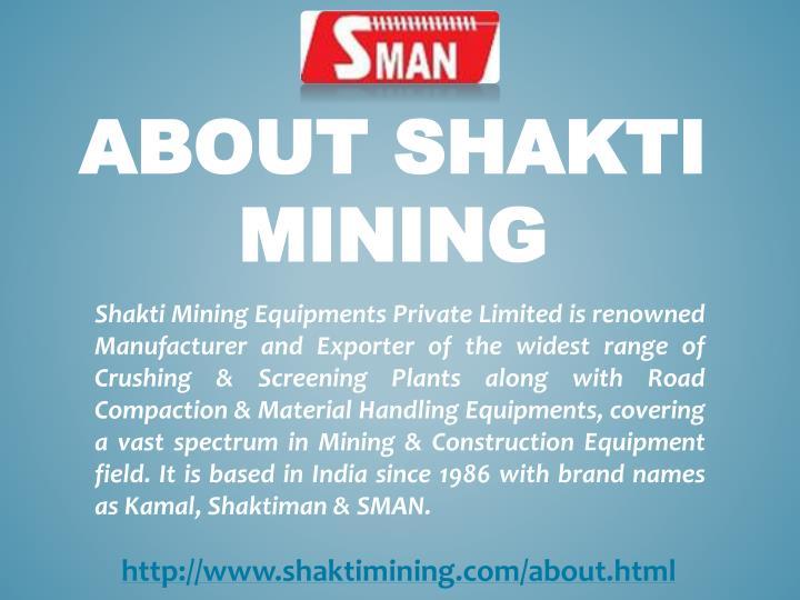 About Shakti