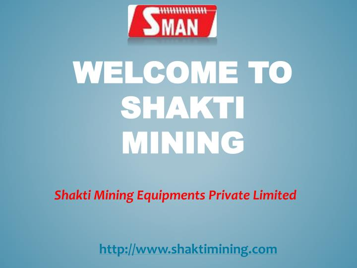 Welcome to shakti mining