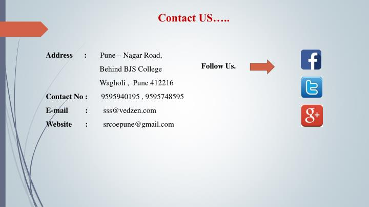 Contact US…..