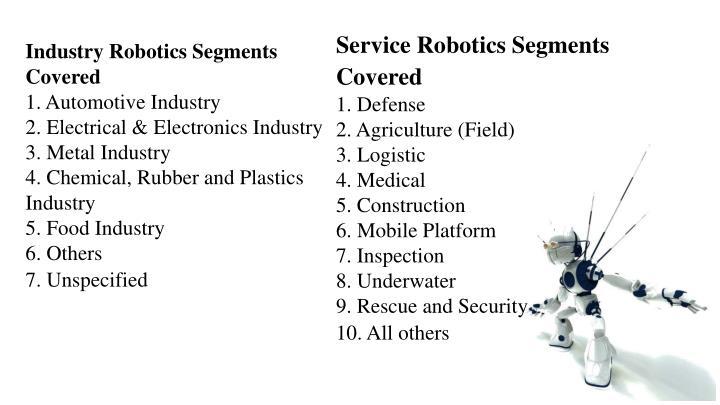 Service Robotics Segments