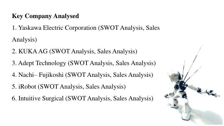 Key Company Analysed