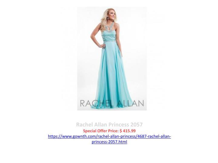 Rachel Allan Princess 2057