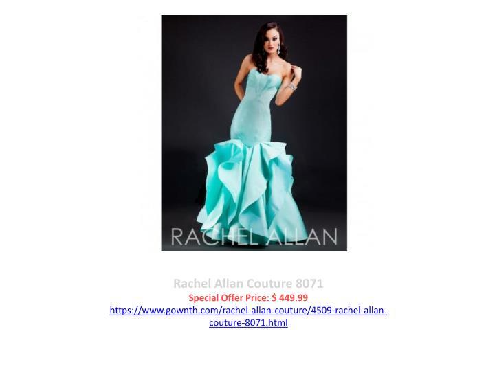 Rachel Allan Couture 8071
