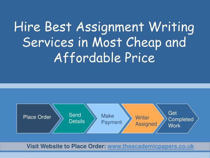 Hire best assignment writing services in most cheap and affordable price