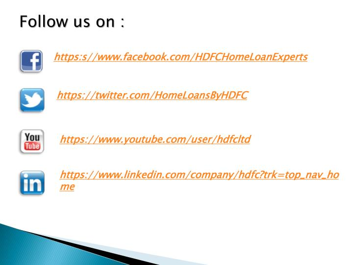 Follow us on :