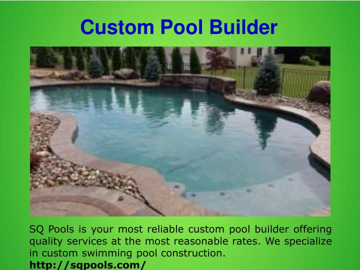 Custom Pool Builder