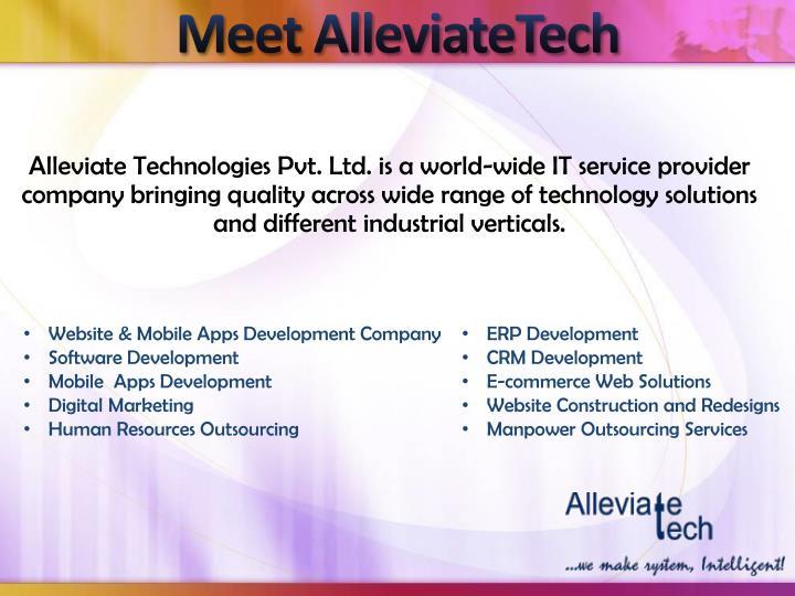 Meet AlleviateTech