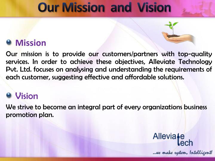 Our Mission  and