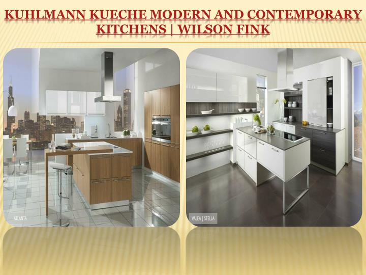 KUHLMANN KUECHE MODERN AND CONTEMPORARY