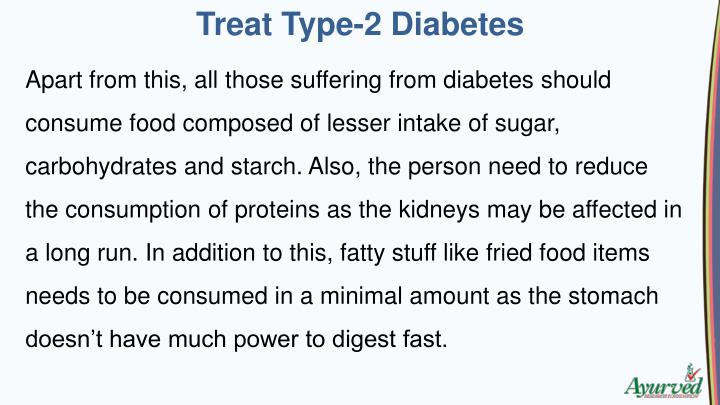 Treat Type-2 Diabetes