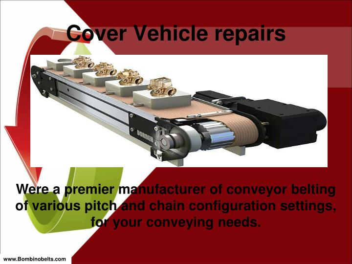 Cover Vehicle repairs