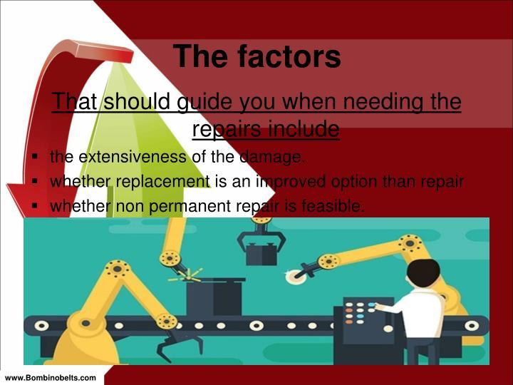 The factors