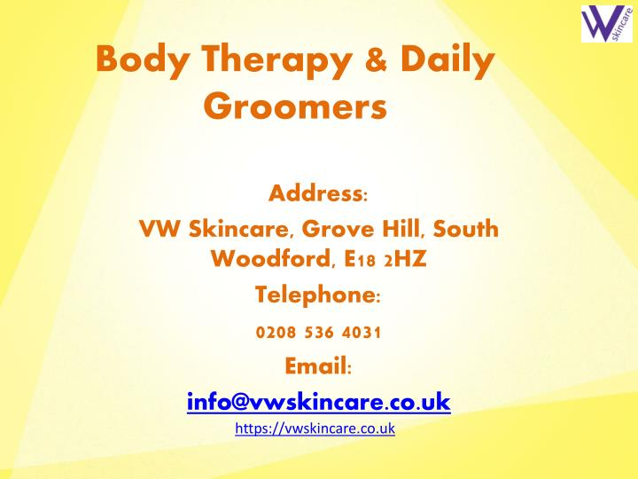 Body Therapy & Daily Groomers