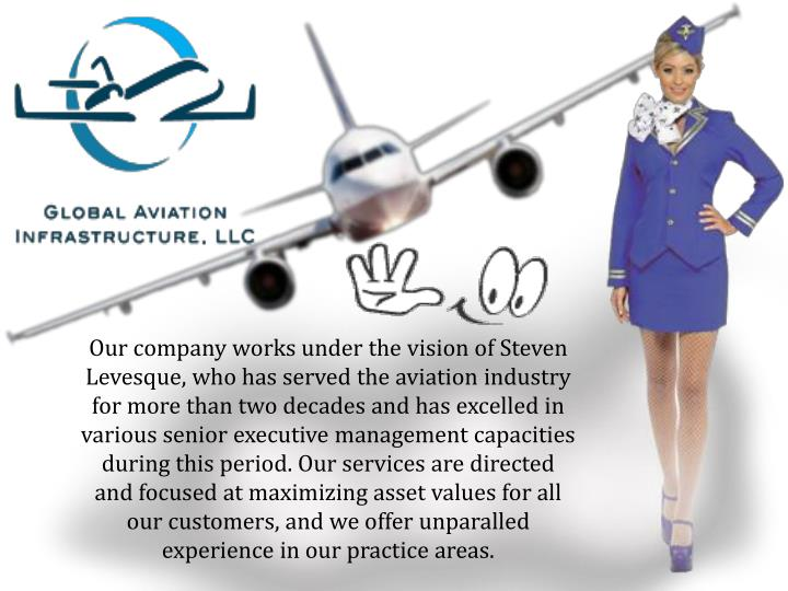 Our company works under the vision of Steven Levesque, who has served the aviation industry for more...