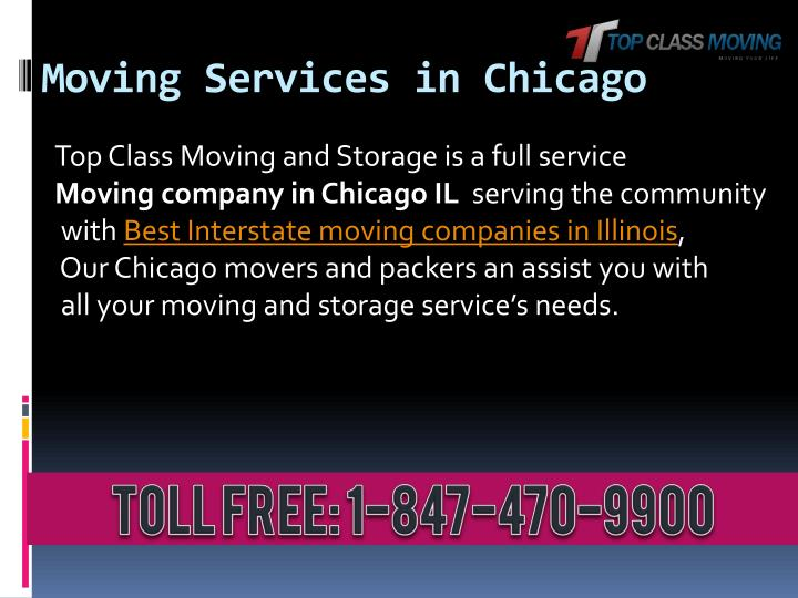 Moving services in chicago