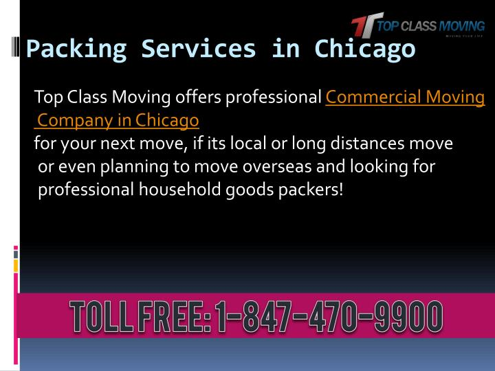 Packing Services in Chicago