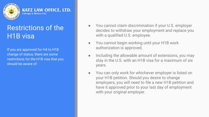 You cannot claim discrimination if your U.S. employer