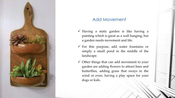 Add Movement
