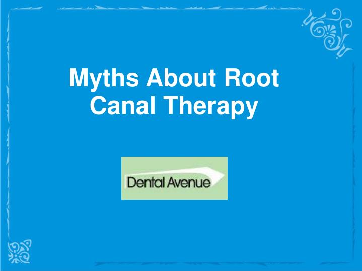 Myths About Root