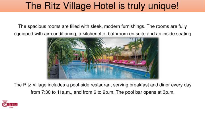 The Ritz Village Hotel is