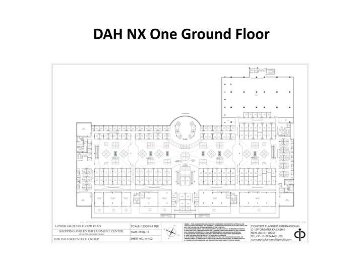 DAH NX One Ground Floor