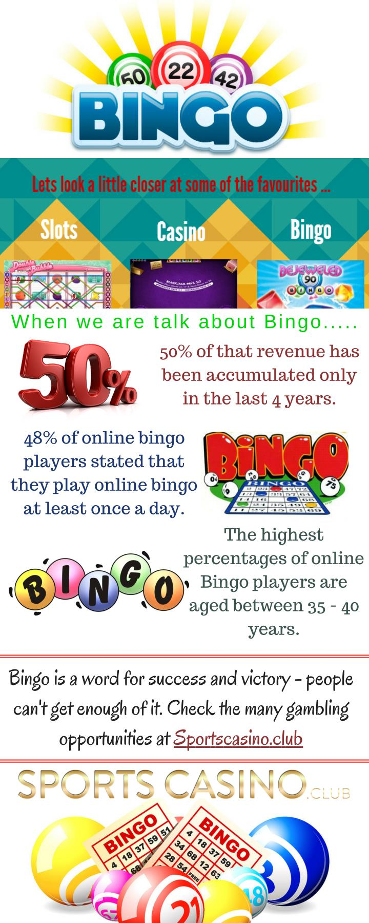When we are talk about Bingo.....
