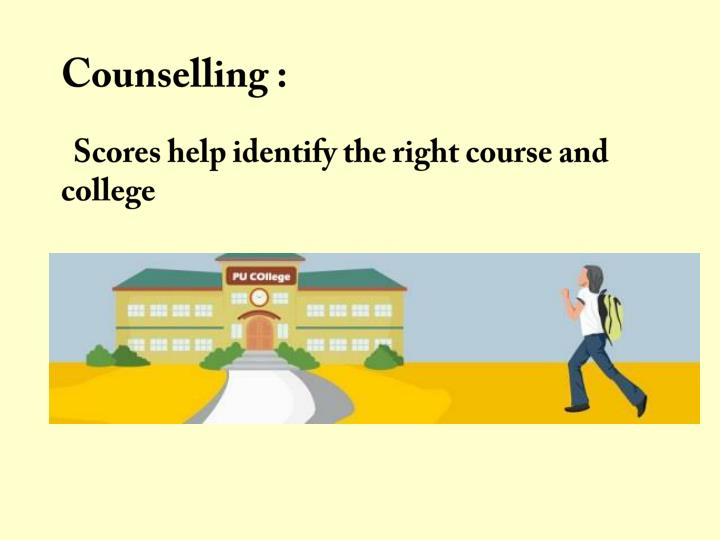 Counselling :