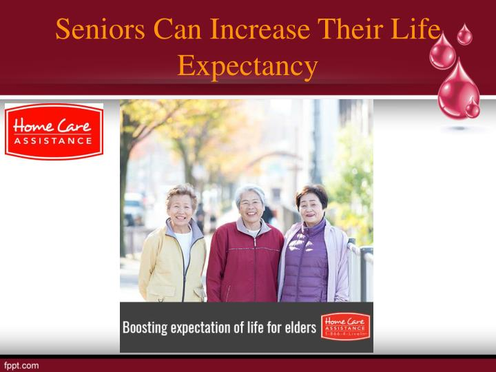 Seniors Can Increase Their Life Expectancy