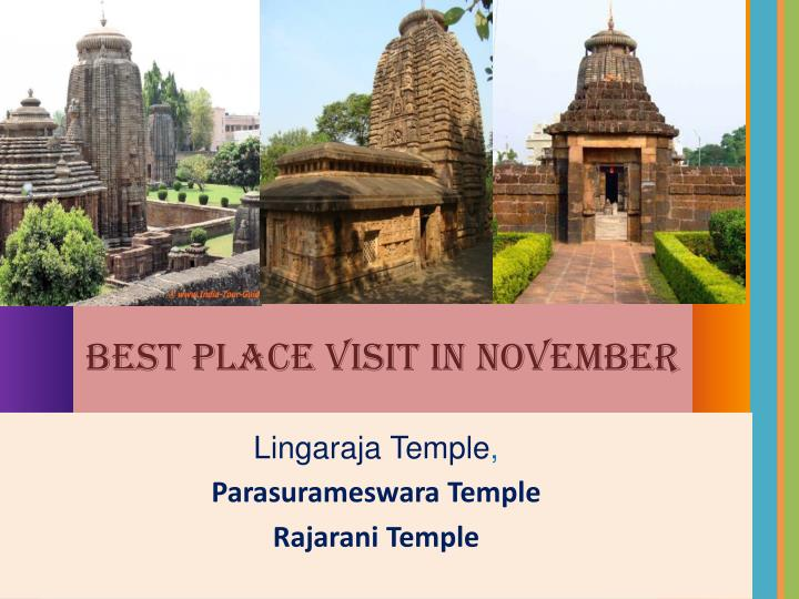 Best Place Visit in November