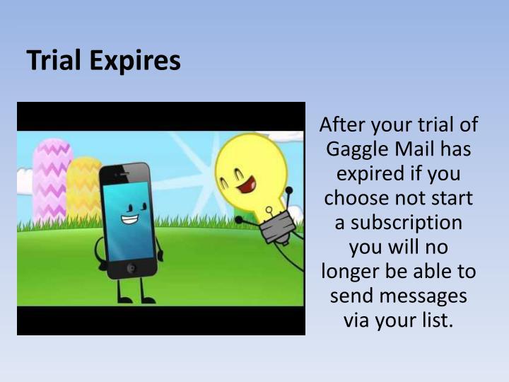 Trial Expires